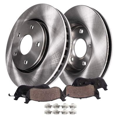 276mm Front Disc Brake Rotors + Ceramic Pads for Chevy Cruze Sonic