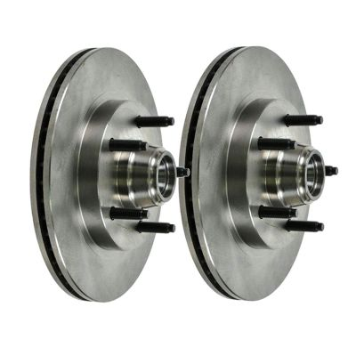 "Pair (2) 10.98"" (279mm) Front Premium Brake Rotors - Check Fitment Chart"