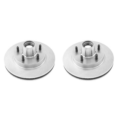 """Pair (2) 10.5"""" (267mm) Premium FRONT Brake Rotors for 2WD S10/S15 & Blazer/Jimmy"""