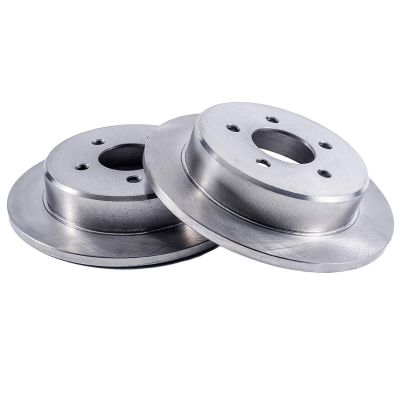 Pair (2) (281mm) REAR Premium Brake Rotors for Buick Riviera - Check Fitment Chart