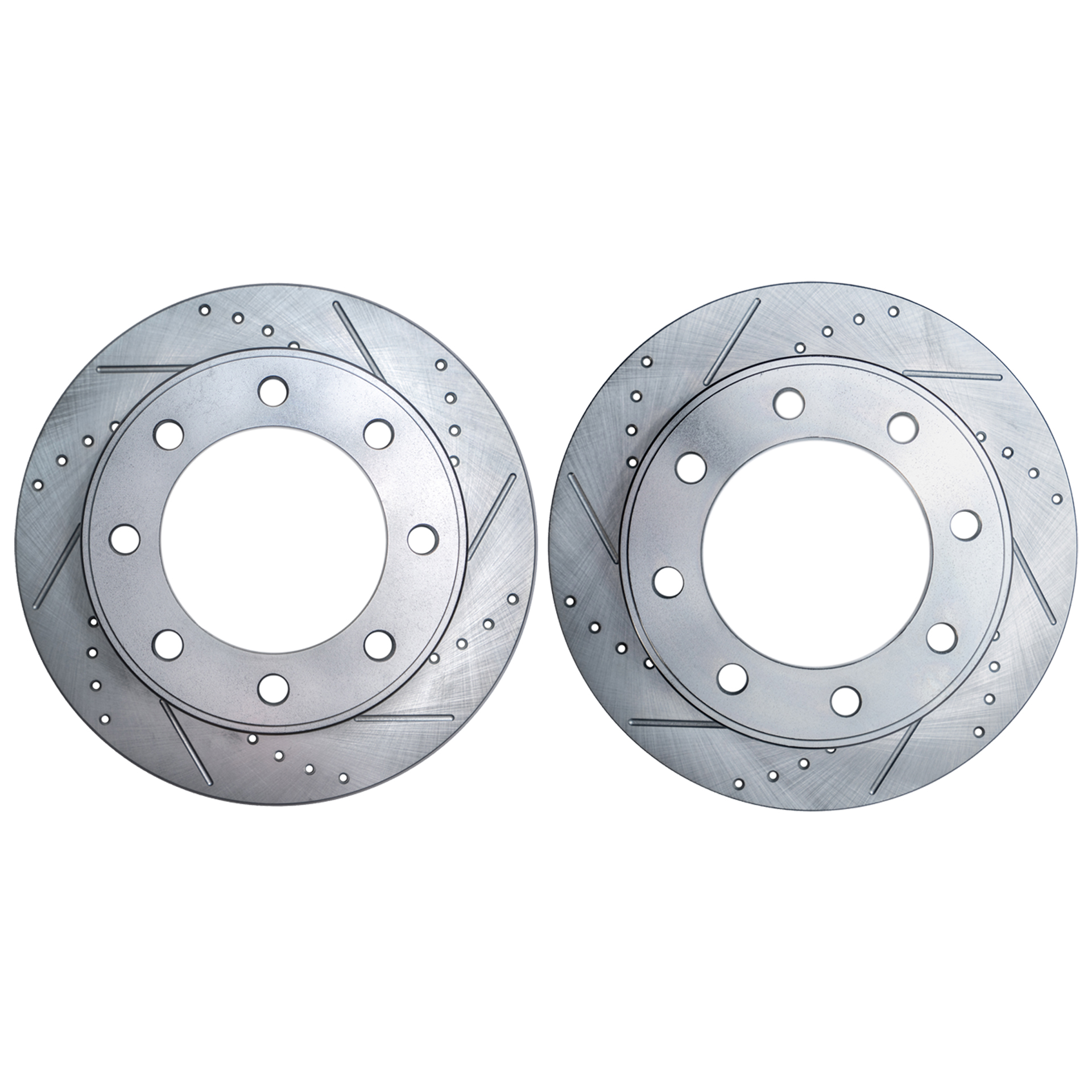 Front Drilled and Slotted Brake Rotors #S-53012-Dodge