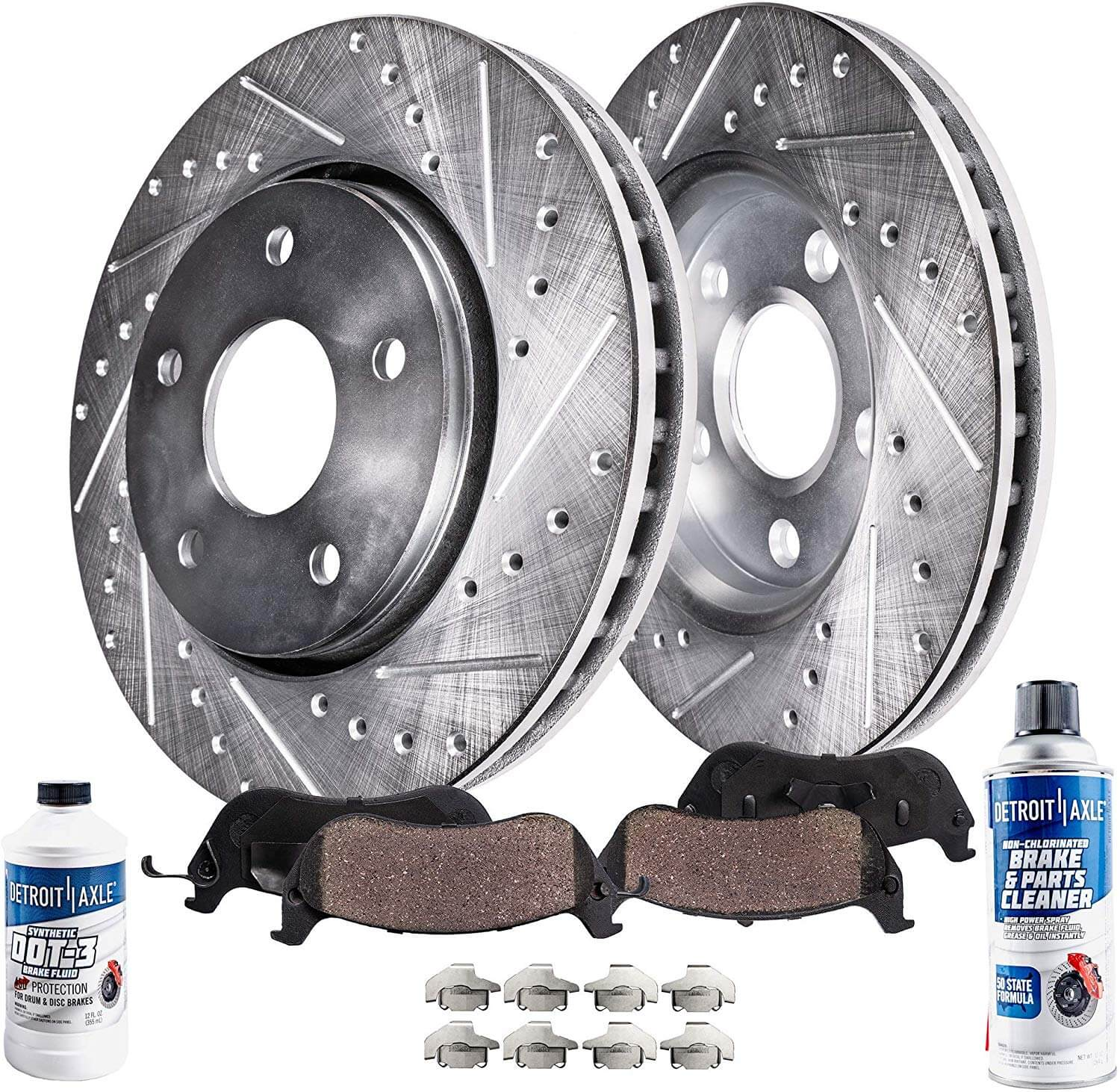 2011 2012 For Ford Escape Coated Front /& Rear Brake Rotors /& Pads