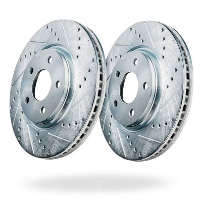 For Chevy Cobalt /& HHR SS w// Brembo Drilled Slotted Front Brake Rotors