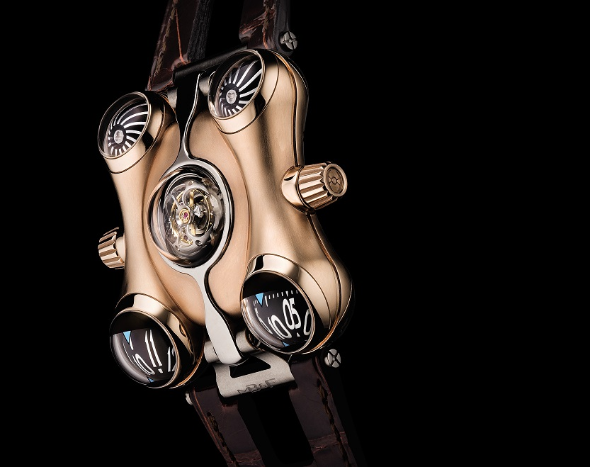 HM6 limited edition in pink gold, circa 2016 made $162,500