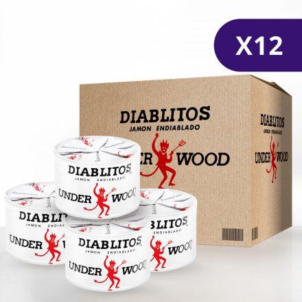 Diablitos™ Underwood™ - Caja de 12 unidades de 115g