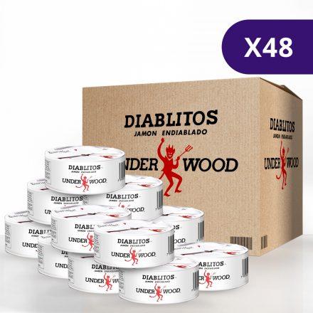 Diablitos™ Underwood™ - Caja de 48 unidades de 54g