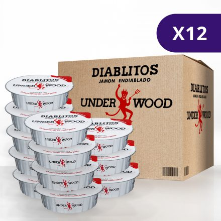 Diablitos™ Underwood™ - 2 Pack de 12 unidades de 100g