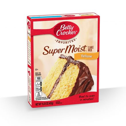 Mezcla para Torta sabor a Vainilla Betty Crocker de 432g