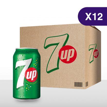 7UP - 12 latas de 355ml