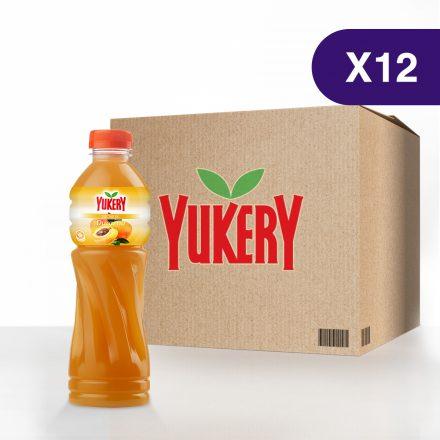 Yukery Sabor a Durazno de 500ml - 12 unidades