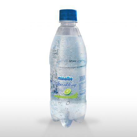 Agua Gasificada Minalba Sparkling Limón de 500ml