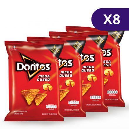 Doritos® Sabor a Mega Queso XXL - 8 unidades de 420g