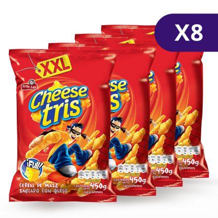 CheeseTris® XXL - Caja de 8 unidades de 450g