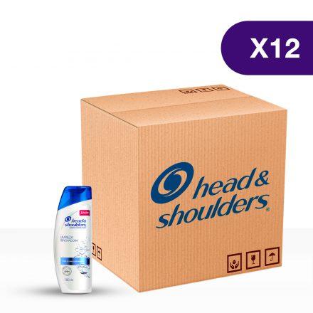 Head & Shoulders® Shampoo Limpieza Renovadora - Caja de 12 unidades 180 ml