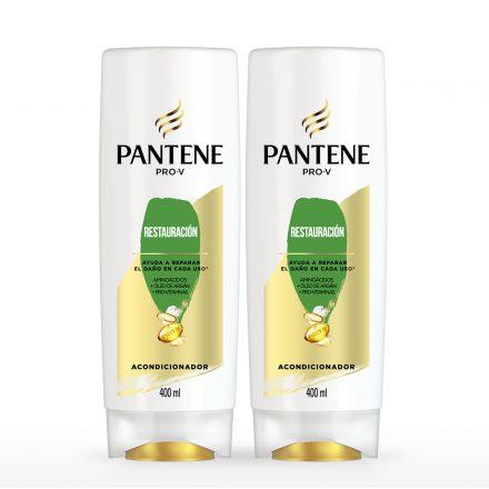 Pantene Acondicionador Restauración - 2 unidades de 400 ml