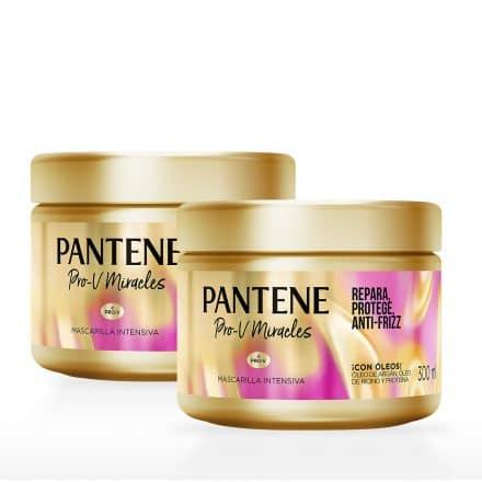 Pantene Mascarilla Intensiva Restauración - 2 unidades de 300 ml