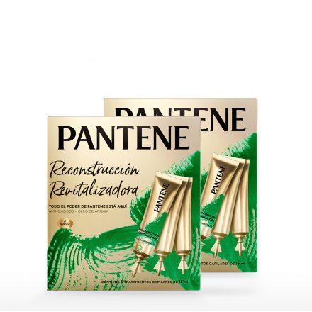 Pantene Ampolla Restauración - 2 Pack de 3 ampollas de 15 ml
