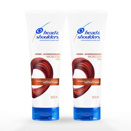 Head & Shoulders® Dermo Acondicionador Protección Caída - 2 unidades de 300 ml