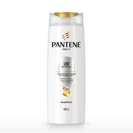Pantene Shampoo Liso Extremo de 400 ml