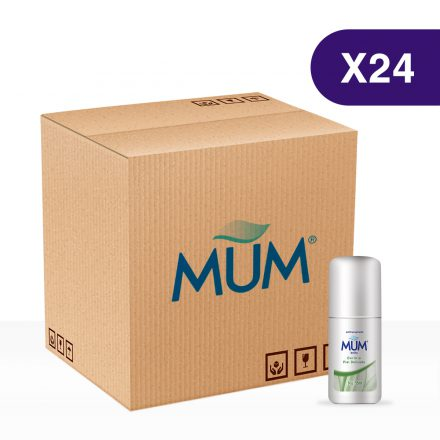 Antitranspirante MUM Roll On Dermis - Caja de 24 unidades de 60gr