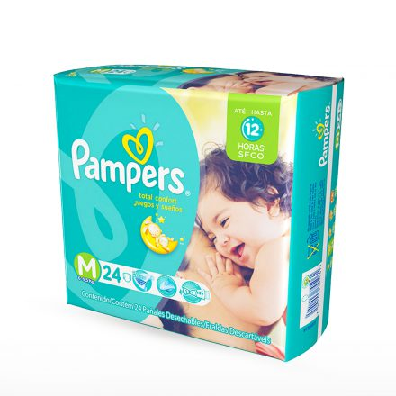 Pañales Pampers Juegos & Sueños - Paquete de 24 unidades Talla M