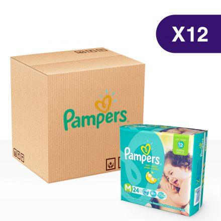 Pañales Pampers Juegos & Sueños - Caja de 12 paquetes Talla M