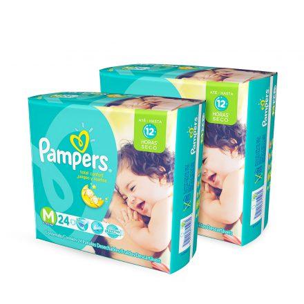 Pañales Pampers Juegos & Sueños - 2 paquetes Talla M