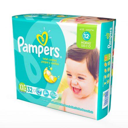 Pañales Pampers Juegos & Sueños - Paquete de 32 unidades Talla XXG
