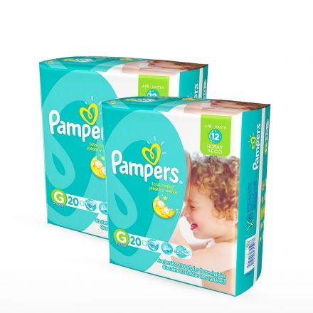 Pañales Pampers Juegos & Sueños - 2 Paquetes Talla G
