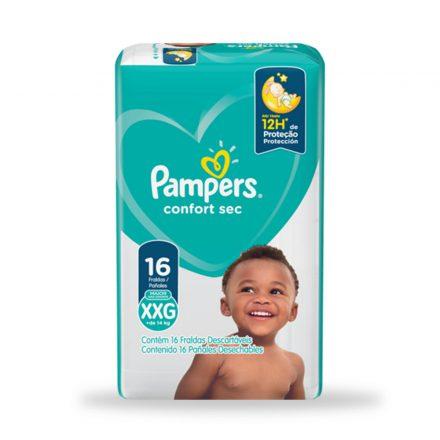 Pañales Pampers® Confort Sec™ - Paquete de 16 unidades Talla XXG