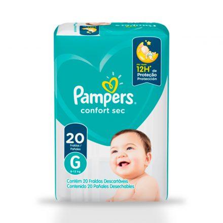 Pañales Pampers® Confort Sec™ - Paquete de 20 unidades Talla G