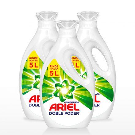 Ariel Doble Poder Concentrado - 3 unidades de 2Lts