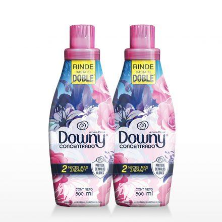 Downy Concentrado Aroma Floral - 2 unidades de 800ml
