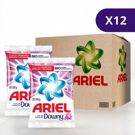 Ariel Touch Downy - Caja de 12 unidades 750 g