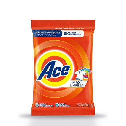 Detergente en Polvo ACE - 800g
