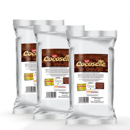 Cocosette® Troceado - 3 unidades de 240g
