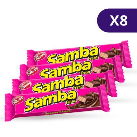 SAMBA® de Fresa - 8 unidades de 32g