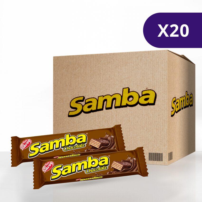 SAMBA® de Chocolate - Caja de 20 unidades de 32g