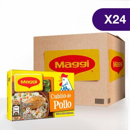 Cubito de Pollo MAGGI® - Caja de 24 tabletas