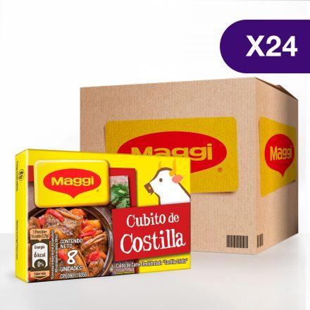 Cubito de Costilla MAGGI® - Caja de 24 tabletas