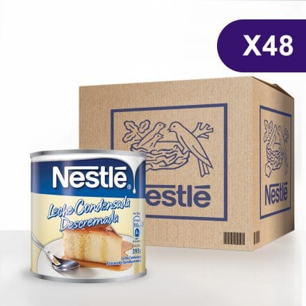 Leche Condensada Azucarada NESTLÉ® - Caja de 48 unidades de 397g