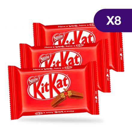 KitKat® 4 Finger Leche - 8 unidades de 41.5g