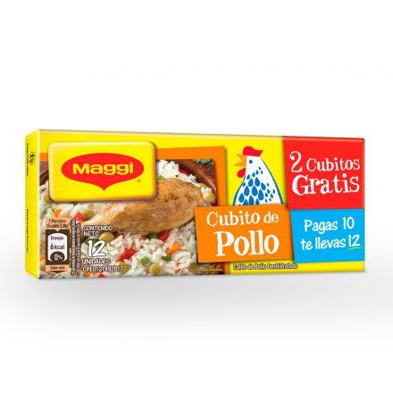 Cubito de Pollo MAGGI® - Tableta de 12 unidades