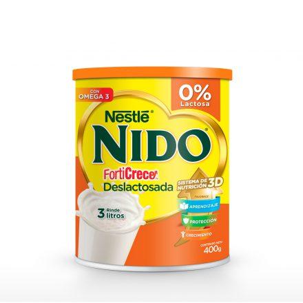 Leche NIDO® Forticrece Deslactosada de 400g
