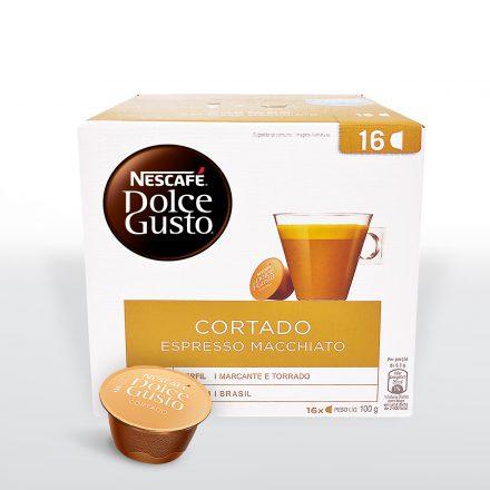 Nescafé® Dolce Gusto® Espresso Macchiato - Caja de 16 cápsulas