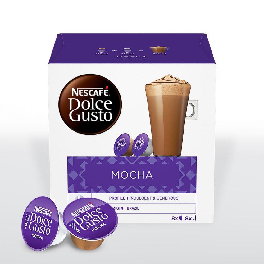 Nescafé® Dolce Gusto® Mocha - Caja de 16 cápsulas