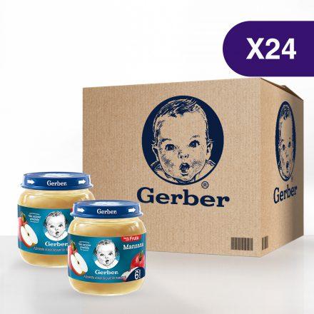 GERBER® Manzana - Caja de 24 unidades