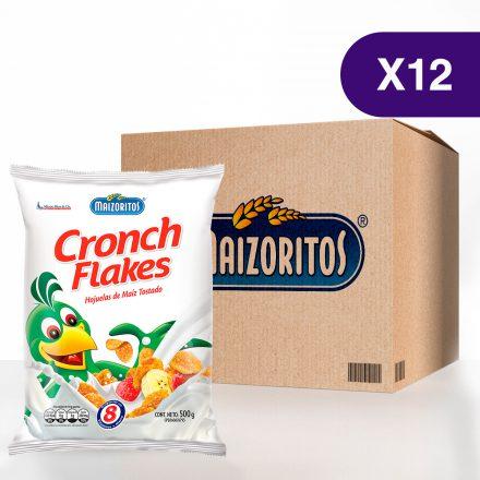 Maizoritos® Cronch Flakes - Caja de 12 unidades de 500g