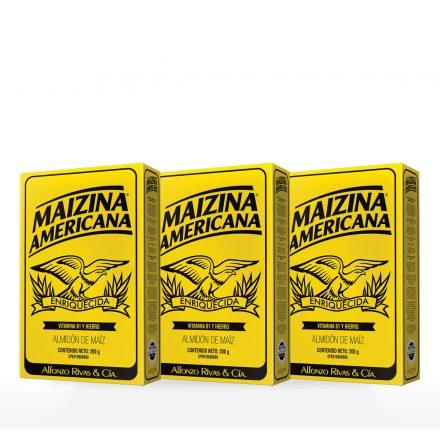 Maizina Americana® - 3 unidades de 200g