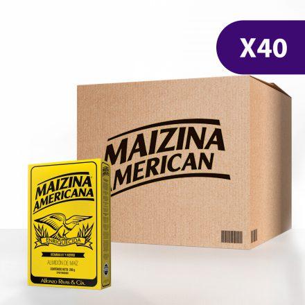 Maizina Americana® - Caja de 40 unidades de 200g